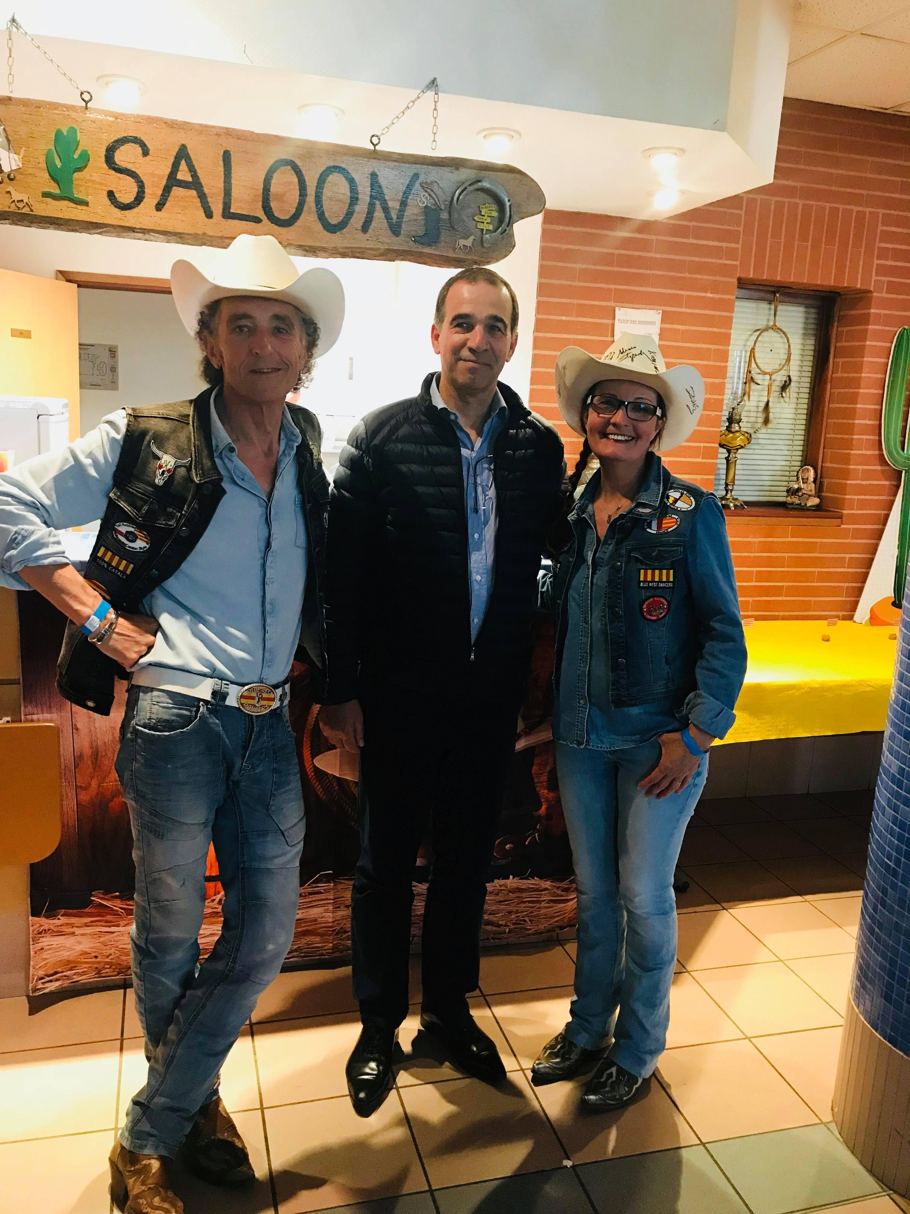 M le Maire avec Alain & Vivi