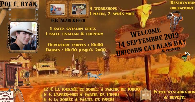 Unicorn Catalan Day & Country