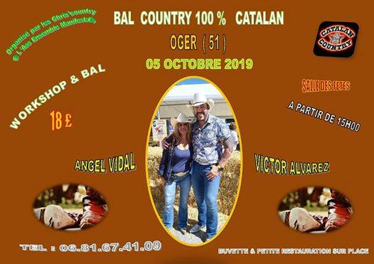 Bal country 100 catalan